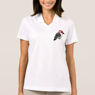 Birdorable Red-bellied Woodpecker Polo Shirt