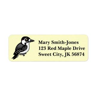 Birdorable Red-cockaded Woodpecker Label