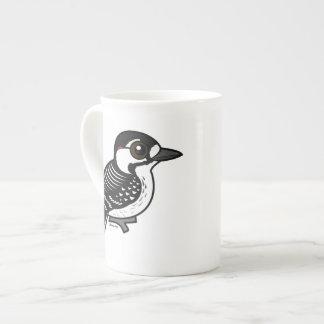 Birdorable Red-cockaded Woodpecker Bone China Mugs