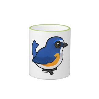 Birdorable Red-flanked Bluetail Ringer Mug