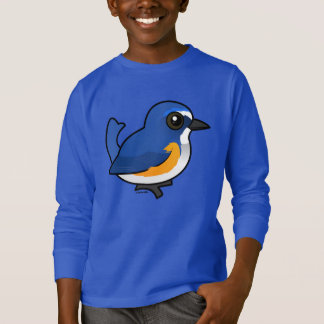 Birdorable Red-flanked Bluetail T-Shirt
