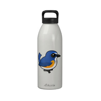 Birdorable Red-flanked Bluetail Drinking Bottle