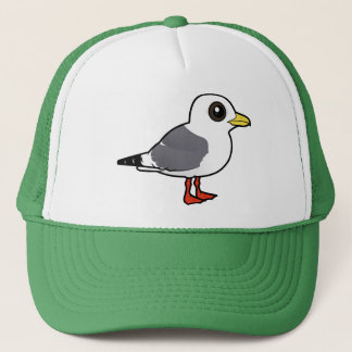Birdorable Red-legged Kittiwake Trucker Hat