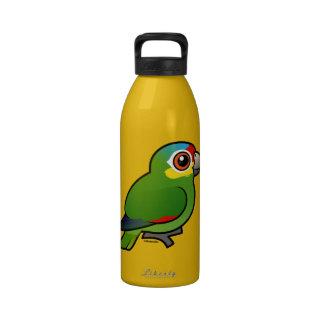 Birdorable Red-lored Parrot Reusable Water Bottles