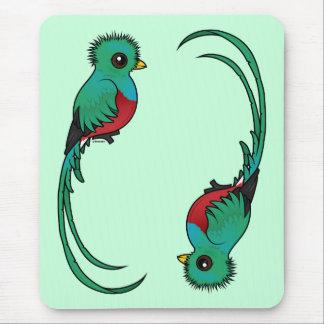 Birdorable Resplendent Quetzal Mouse Pad