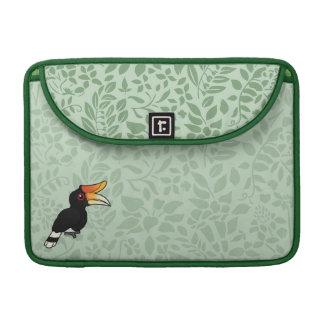 Birdorable Rhinoceros Hornbill Sleeve For MacBook Pro
