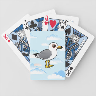Birdorable Ring-billed Gull Bicycle Playing Cards