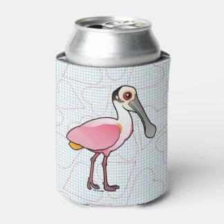 Birdorable Roseate Spoonbill Can Cooler