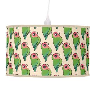 Birdorable Rosy-faced Lovebird Hanging Lamp