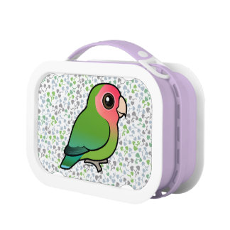 Birdorable Rosy-faced Lovebird Lunch Box