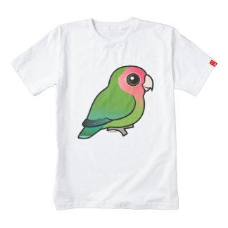 Birdorable Rosy-faced Lovebird Zazzle HEART T-Shirt