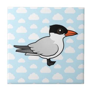 Birdorable Royal Tern Ceramic Tile