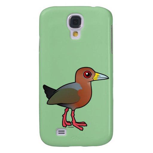 Birdorable Rufous-necked Wood-Rail Samsung Galaxy S4 Case