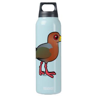 Birdorable Rufous-necked Wood-Rail Insulated Water Bottle