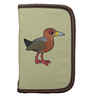 Birdorable Rufous-necked Wood-Rail Folio Planner