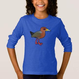 Birdorable Rufous-necked Wood-Rail T-Shirt