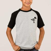 Sabine's Gull Kids' Short Sleeve Raglan T-Shirt