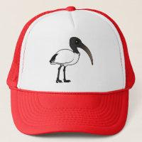 Sacred Ibis Trucker Hat
