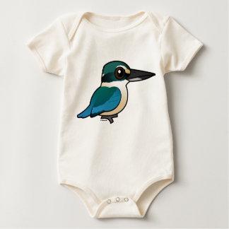 Birdorable Sacred Kingfisher Baby Bodysuit