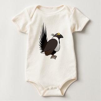 Birdorable Sage Grouse Baby Bodysuit