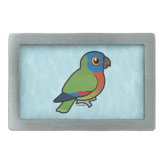 Birdorable Saint Lucia Parrot Belt Buckles