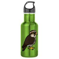 Saker Falcon Water Bottle (24 oz)