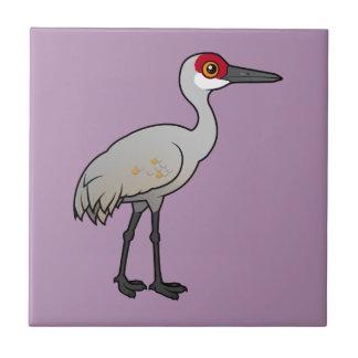 Birdorable Sandhill Crane Tile