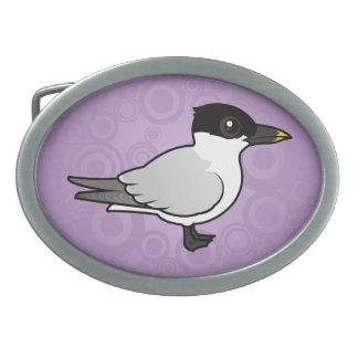 Birdorable Sandwich Tern Oval Belt Buckle