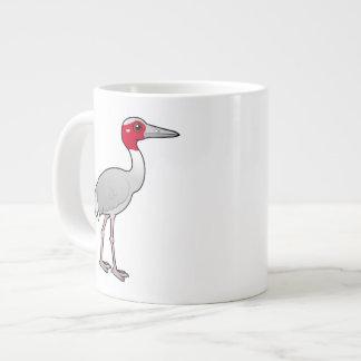 Birdorable Sarus Crane Large Coffee Mug