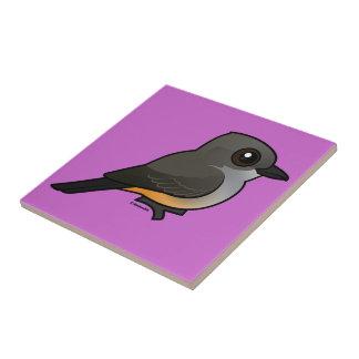 Birdorable Say's Phoebe Ceramic Tile
