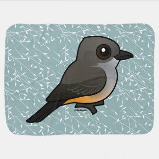 Birdorable Say's Phoebe Swaddle Blanket
