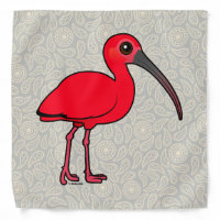 Scarlet Ibis Bandana