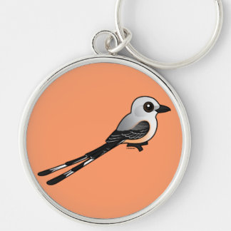 Birdorable Scissor-tailed Flychatcher Keychain