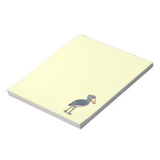 Birdorable Shoebill Libretas Para Notas