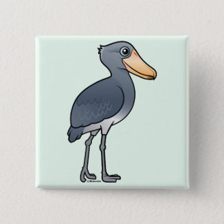 Birdorable Shoebill Pinback Button