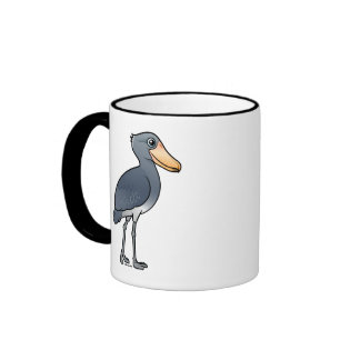Birdorable Shoebill Taza De Dos Colores