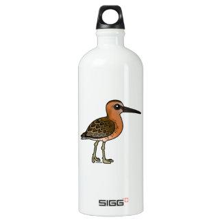 Birdorable Short-billed Dowitcher Aluminum Water Bottle