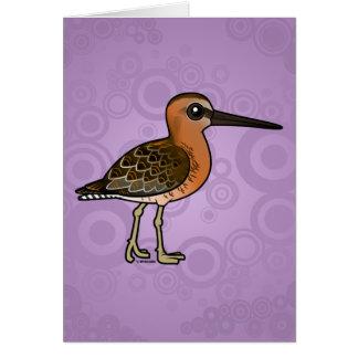 Birdorable Short-billed Dowitcher Card
