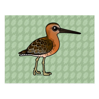 Birdorable Short-billed Dowitcher Postcard