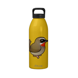 Birdorable Siberian Rubythroat Drinking Bottle