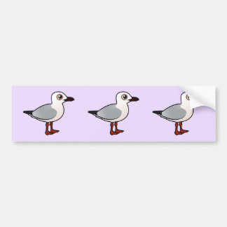 Birdorable Slender-billed Gull Car Bumper Sticker