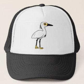 Birdorable Snowy Egret Trucker Hat