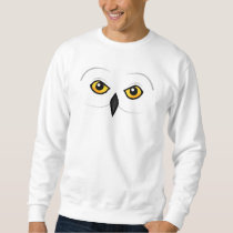 Birdorable Snowy Owl Face Sweatshirt