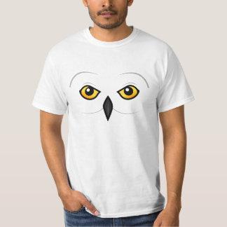 Birdorable Snowy Owl Face T-Shirt