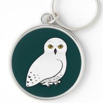Birdorable Snowy Owl Keychain