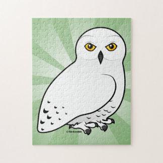 Birdorable Snowy Owl Jigsaw Puzzle