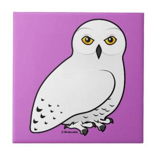 Birdorable Snowy Owl Tile