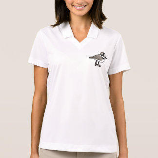 Birdorable Snowy Plover Polo Shirt