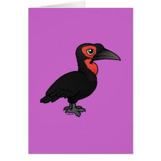 Birdorable Southern Ground Hornbill Card