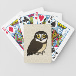 Birdorable Spectacled Owl Bicycle Playing Cards